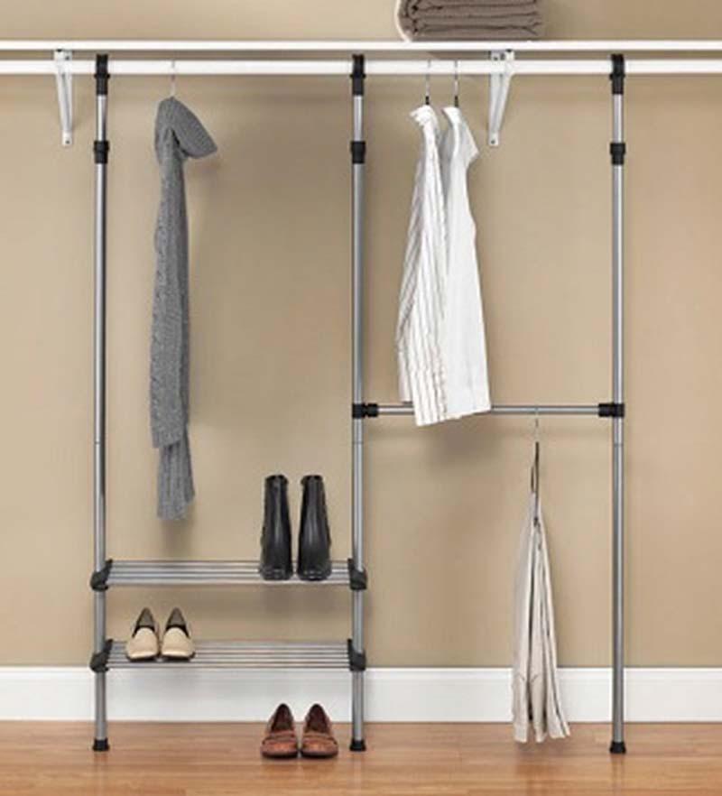 Closet rod system No closet hanging solutions