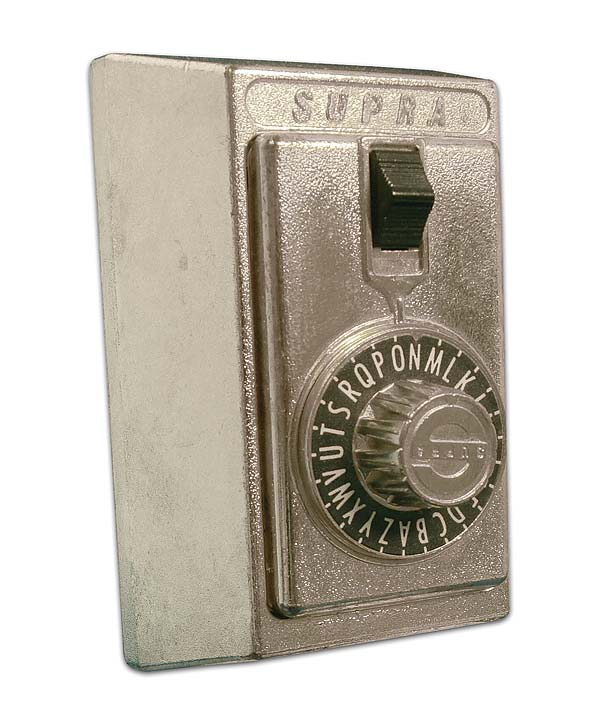 Store A Key Exterior Combination Lockbox