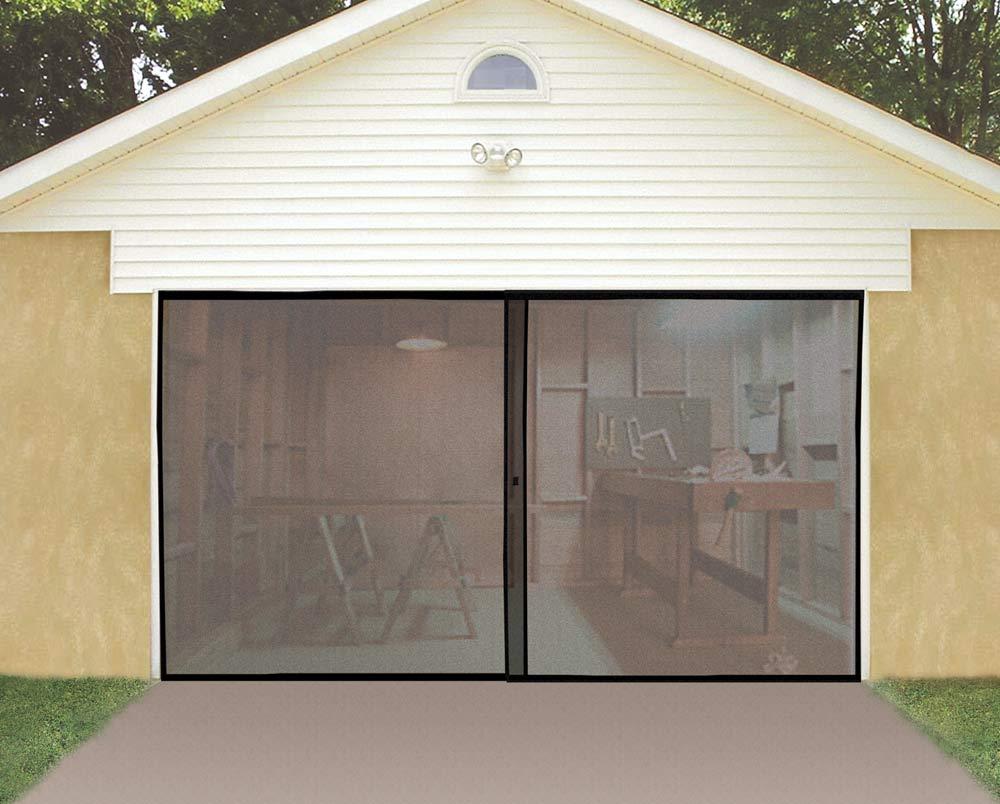 Garage screen door for 18 x 8 garage door screen