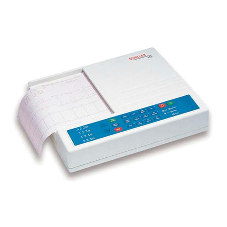 ... > Diagnostics > Blood Pressure > Schiller Cardiovit AT2 ECG Machine