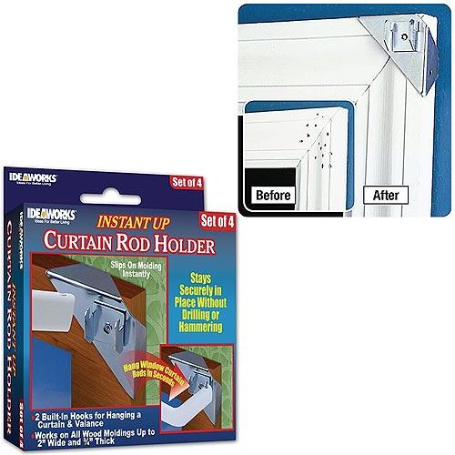 Instant Up Curtain Rod Holder Colonialmedical Com
