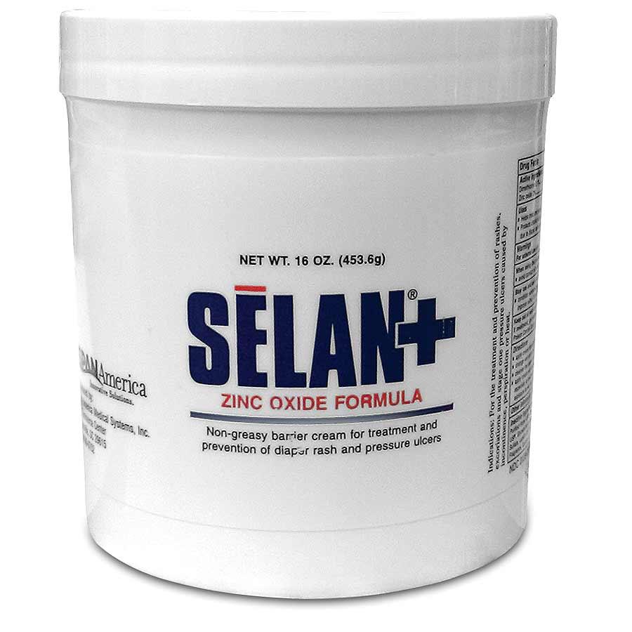 amp  Beauty  gt  Skin Care  gt  Selan  Zinc Oxide Barrier Cream - 16 oz JarZinc Oxide Cream