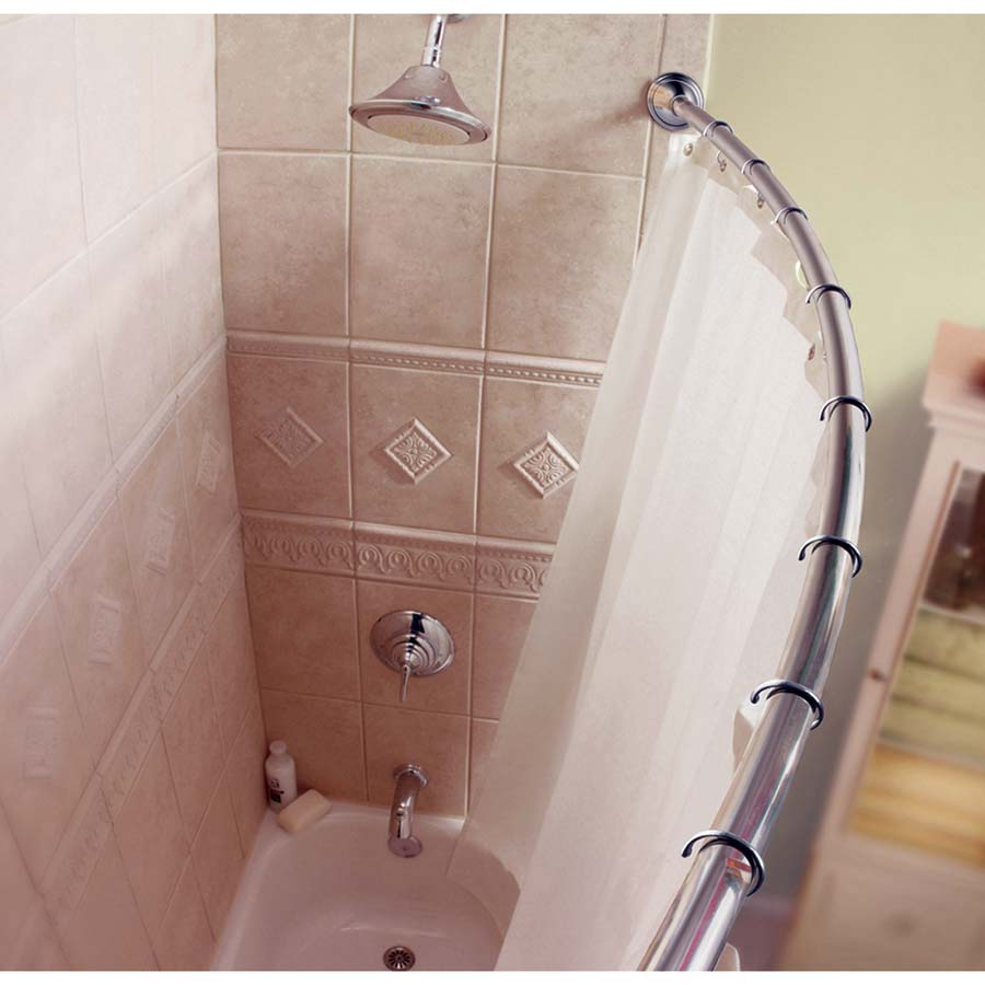 Decorative Curved Shower Rod