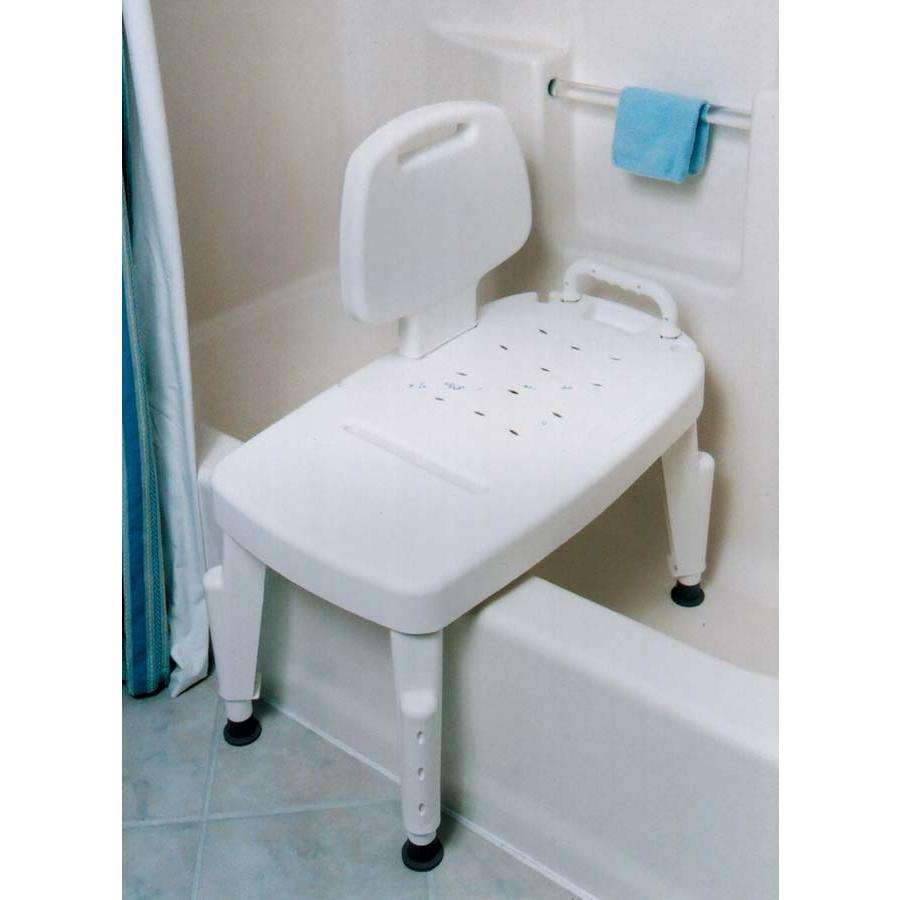 How to use a shower transfer bench 28 images transfer bench with back careway wellness Transfer bath bench
