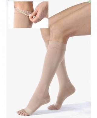 BSN Medical Jobst Relief Knee High Support Socks 1520 mmHg BEIGE - SMALL - OPEN TOE at Sears.com