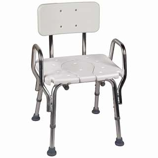 Cut Out Seat Shower Chair