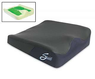 "THE COMFORT COMPANY Saddle Wedge Cushion With QuadraGel 18"" X 16"" at Sears.com"