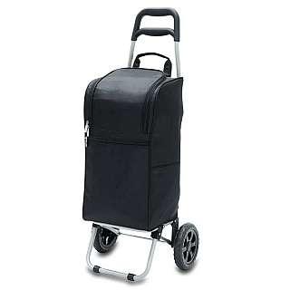 Picnic Time Cart Cooler BLACK