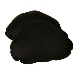 Wear Ease Triangular Breast Forms BLACK - SMALL at Sears.com