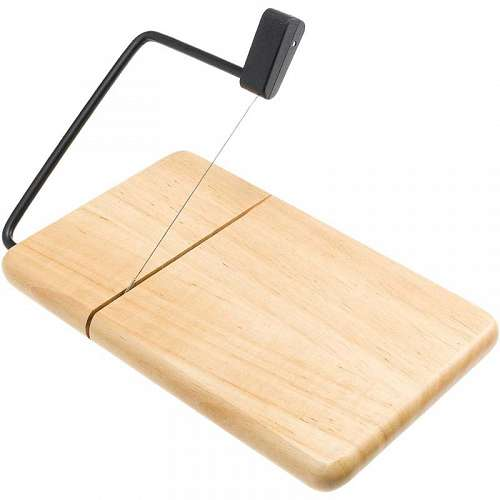 Thick Beechwood Cheese Slicer