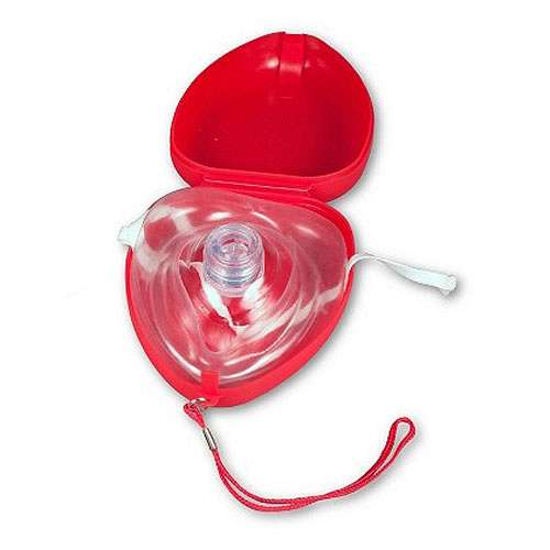 CPR Mask in Hard Carrying Case