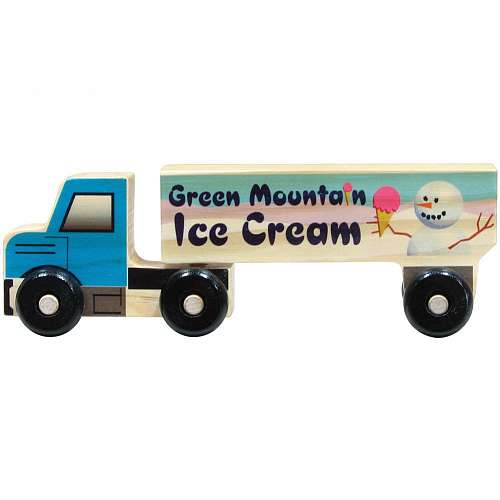 Semi Ice Cream Truck