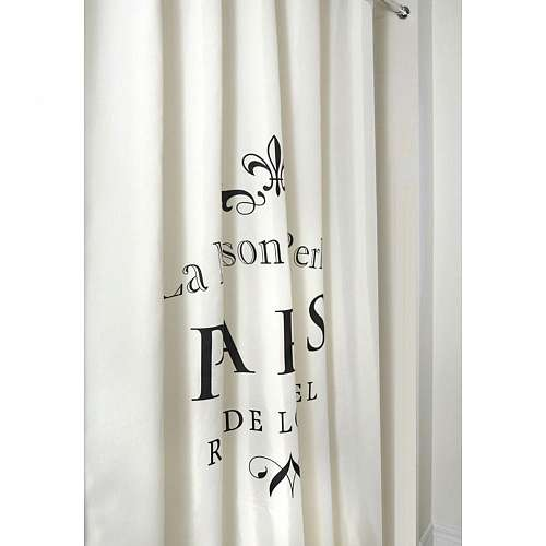 Le Maison Paris Printed Shower Curtain