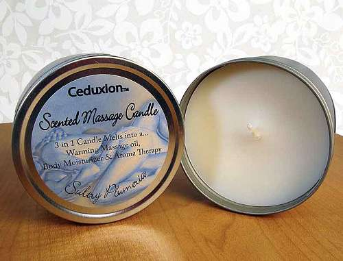 3-in-1 Scented Massage Oil Candle