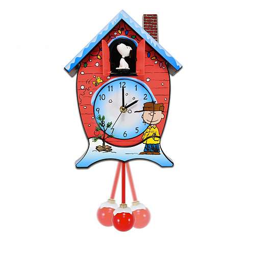 Peanuts Holiday Cuckoo Clock