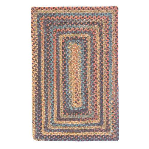 Ridgevale Braided Rectangular Rug