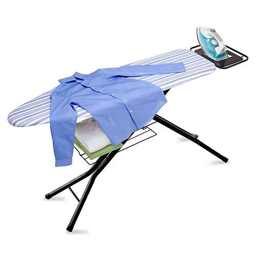 4 Leg Hd Ironing Board With Iron Rest