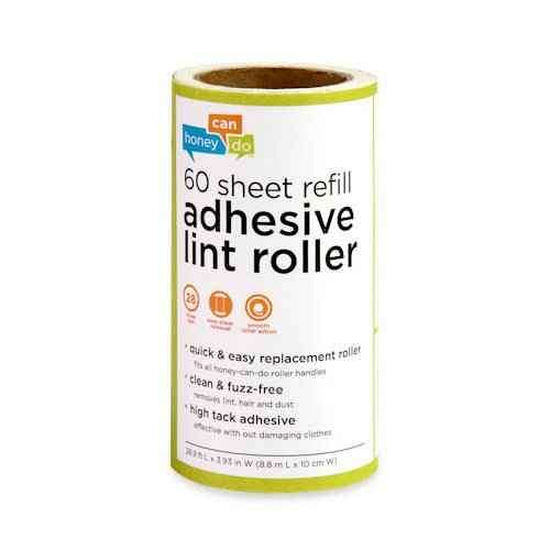 4 Pack Of 60 Sheet Lint Rollers
