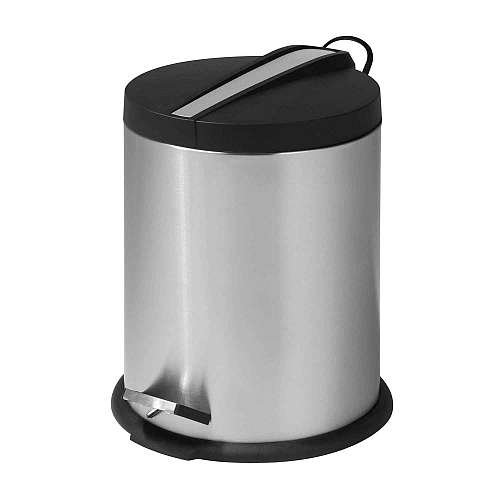5 Liter Round Step Can W Stainless Steel Insert