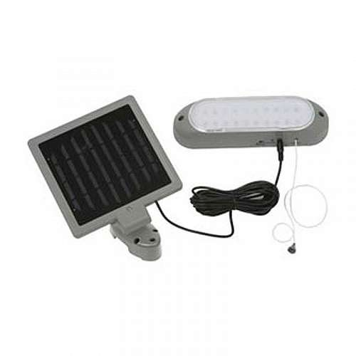 Solar Panel Shed Light