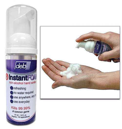 No Rinse Foaming Hand Sanitizer