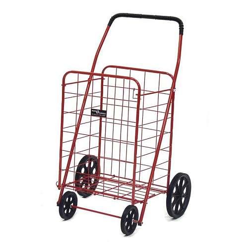 Narita Trading Company EASY WHEELS Jumbo-A Shopping Cart, Red