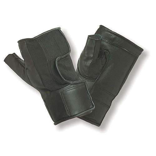 Leather Palm Wheelchair Gloves