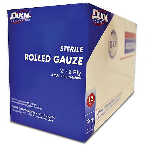 Sterile Rolled Gauze