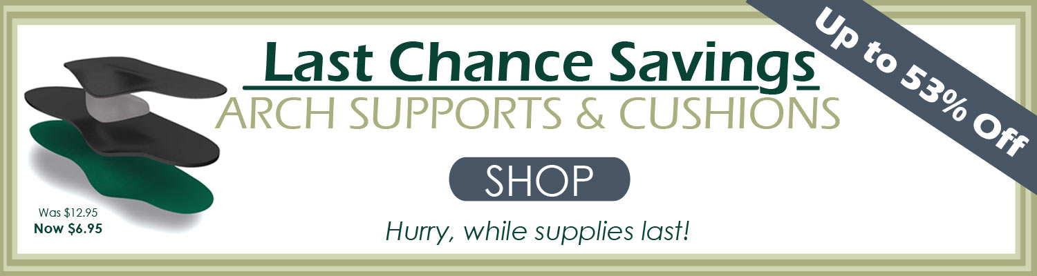 shop last chance sale arch support